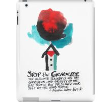 Stop the Genocide iPad Case/Skin