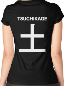 Kage Squad Jersey: Tsuchikage Women's Fitted Scoop T-Shirt