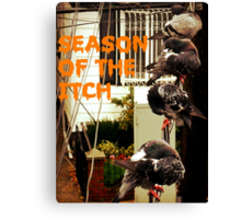 Season Of The Itch Canvas Print