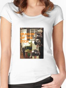 Season Of The Itch Women's Fitted Scoop T-Shirt
