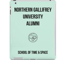 NORTHERN GALLIFREY UNIVERSITY ALUMNI iPad Case/Skin