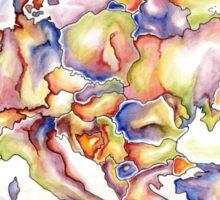 Europe in Colour Sticker