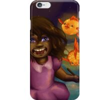 Girl and the Magic Goldfish iPhone Case/Skin