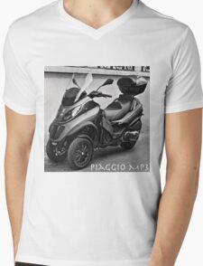 Piaggio MP3 Three-Wheeled Scooter Mens V-Neck T-Shirt