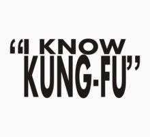 movie quotes: kung-fu Kids Clothes