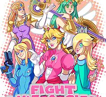 Fight Like A Girl by allanime01
