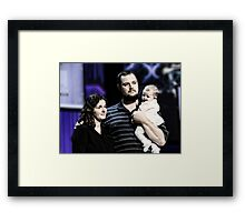 Baby Dedication Framed Print