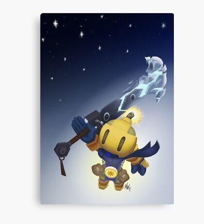 Spiral Knights - Bomberman Canvas Print
