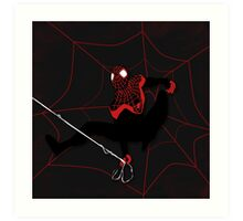 Ultimate Spiderman Miles Morales Art Print