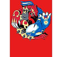 Primal Balance Omega Ruby & Alpha Sapphire T-shirt Photographic Print