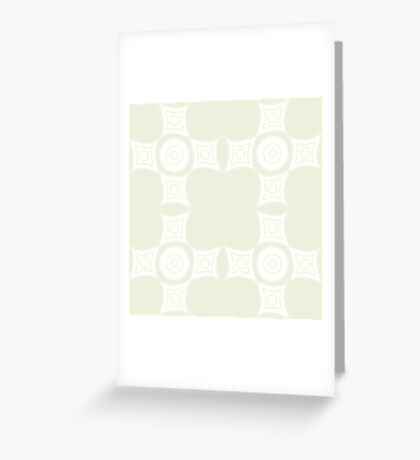 Simplistic Tan Pattern Greeting Card