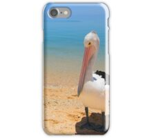 Pelican Pose iPhone Case/Skin