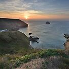 Cornwall: Trebarwith Strand Sunset by Rob Parsons