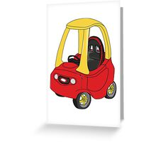 Cozy Coupe Racer Greeting Card