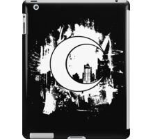 Moon Knight city-scape White iPad Case/Skin