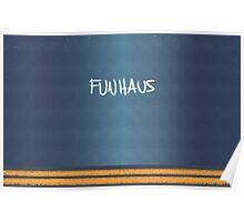 FUNHAUS - logo design  Poster