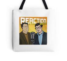 Reaction Podcast Logo Tote Bag