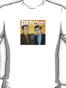 Reaction Podcast Logo T-Shirt