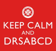 KEEP CALM and DRSABCD shirt Kids Clothes