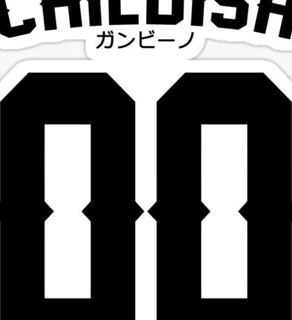 Childish Jersey v2: Black Sticker