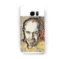 George Carlin Abstract Portrait Samsung Galaxy Case/Skin
