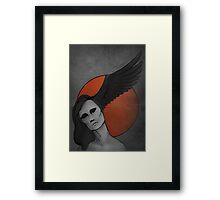 The Raven—Sun Morrigan Framed Print