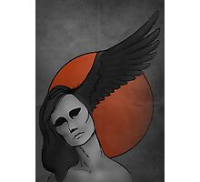 The Raven—Sun Morrigan Photographic Print