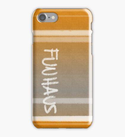 FUNHAUS - logo design 2 iPhone Case/Skin