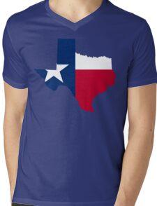 Texas | Flag State | SteezeFactory.com Mens V-Neck T-Shirt