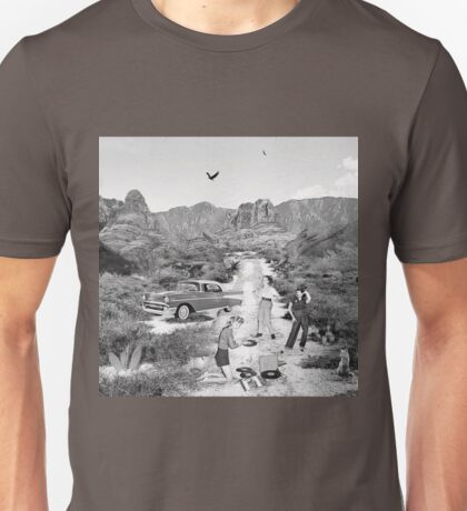 A Break in Mojave (Black&White Edition) Unisex T-Shirt