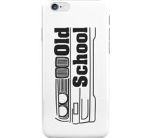 E30 Black iPhone Case/Skin