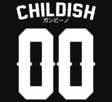 Childish Jersey v2: White T-Shirt