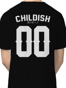 Childish Jersey v2: White Classic T-Shirt