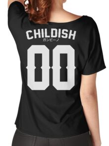 Childish Jersey v2: White Women's Relaxed Fit T-Shirt