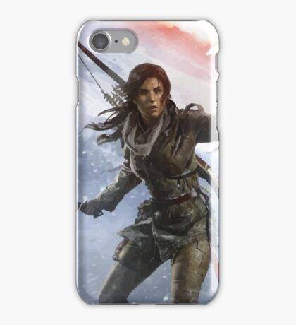 Rise of the Tomb Rider iPhone Case/Skin