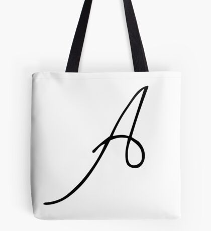 A is for Adele Tote Bag