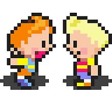 Young Lucas & Claus - Mother 3 by fuzzynegi