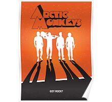 Arctic Monkeys: Clockwork Orange Poster