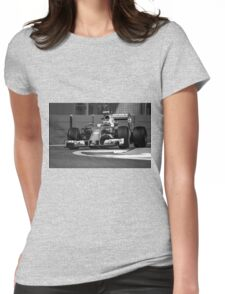 Formula 1 racing cars 2016 Womens Fitted T-Shirt