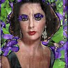 Eyes Of Violet-A Tribute to Elizabeth Taylor by RobynLee