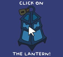 "Championship Thresh - ""CLICK ON THE LANTERN!"" - WHITE TEXT/DARK SHIRTS by baconpiece"