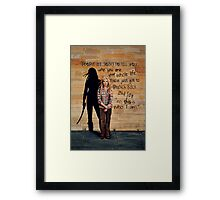 This is Who I Am Framed Print