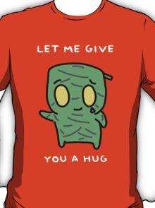 "Amumu - ""LET ME GIVE YOU A  HUG"" - WHITE TEXT/DARK SHIRTS T-Shirt"