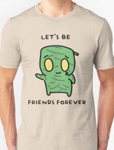 "Amumu - ""LET'S BE FRIENDS FOREVER"" - BLACK TEXT/LIGHT SHIRTS T-Shirt"
