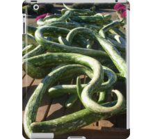 Are These Snakes or Zucchini? iPad Case/Skin