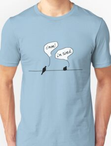 Two Birds on a Wire Unisex T-Shirt