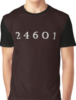 Prisoner 24601 Graphic T-Shirt