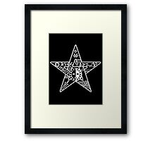 Persona! - star Framed Print