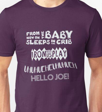 The Baby Sleeps In The Crib! Unisex T-Shirt