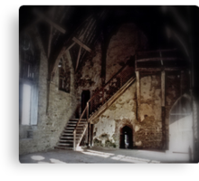 Inside Stokesay (1) Canvas Print